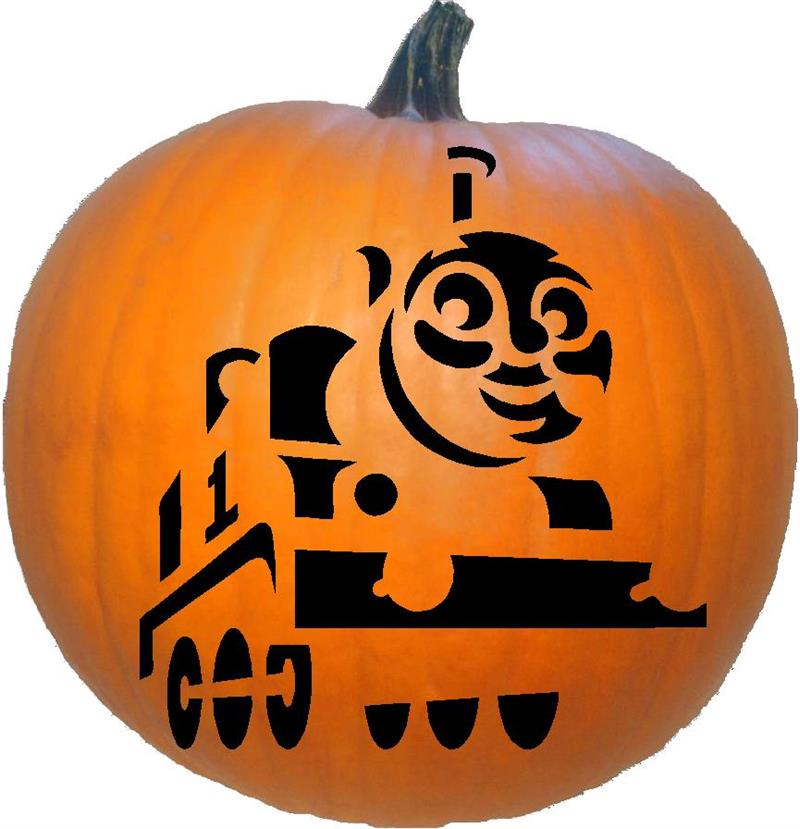 Disney thomas the tank engine for Thomas pumpkin template
